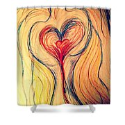 Art Therapy 184 Shower Curtain