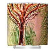 Art Therapy 185 Shower Curtain