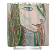 Art Therapy 192 Shower Curtain