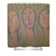 Art Therapy 193 Shower Curtain