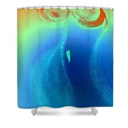 Art Therapy 26 Shower Curtain