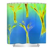 Art Therapy 28 Shower Curtain