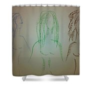 Art Therapy 39 Shower Curtain