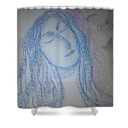 Art Therapy 91 Shower Curtain