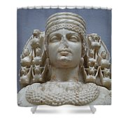 Artemis Shower Curtain by Ellen Henneke
