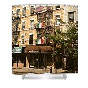 Arthur Avenue In The Bronx Shower Curtain