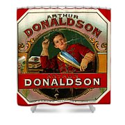 Arthur Donaldson Shower Curtain