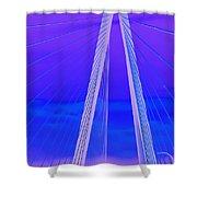 Arthur Ravenel Jr Bridge Iv Shower Curtain