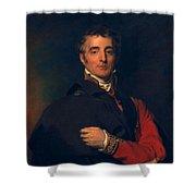 Arthur Wellesley, Duke Of Wellington Shower Curtain