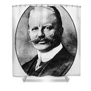 Arthur Zimmermann (1864-1940) Shower Curtain