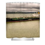 Artic Bridge In The Panama Canal Shower Curtain