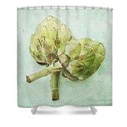 Artichokes Shower Curtain