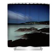 Artillery Rocks Looking Back To Kennet Shower Curtain
