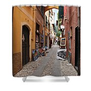 Artisan Alley Portofino Italy Shower Curtain