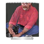 Artist At Play Shower Curtain