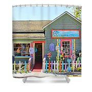 Artist Gallery In Cambria California  7142 Shower Curtain