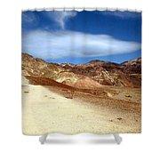 Artist Pallet Death Valley Shower Curtain