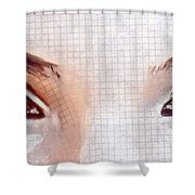 Artistic Eyes Shower Curtain