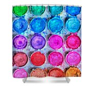 Artistic Inspiration  Shower Curtain