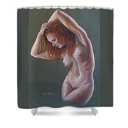 Artistic Nude Shower Curtain by Leida Nogueira