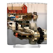Artistic Rockport Shower Curtain