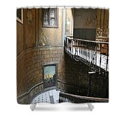 Artistic Staircase In Tbilisi Shower Curtain