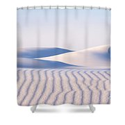 Artistry In The Sand Shower Curtain