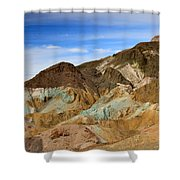 Artists Palette Death Valley National Park Shower Curtain