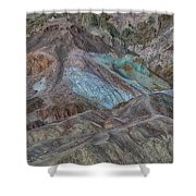 Artists Pallet Death Valley Ca Img 0448 Shower Curtain