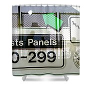 Artists Panels Shower Curtain