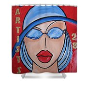 Artists Stores Shower Curtain