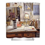 Artist's Studio Shower Curtain