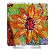 Artwork Fragment 103 Shower Curtain
