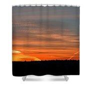 Artwork Of The Sky Shower Curtain