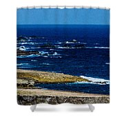 Aruba Coast Shower Curtain