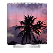 Aruba Sunset Shower Curtain