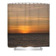 Aruban Sunset Shower Curtain