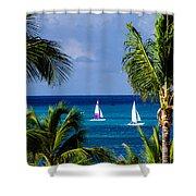 Arubian Sails Shower Curtain