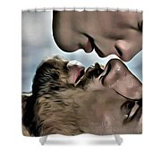 Arwen And Aragorn Shower Curtain