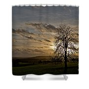 As Clouds Pass By Shower Curtain