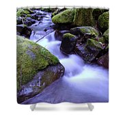 As If Heaven Was A Calmly Place Shower Curtain