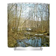 As Spring Begins Shower Curtain