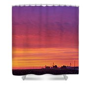 As The Rooster Crows Shower Curtain
