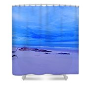 As The Storm Approaches Shower Curtain