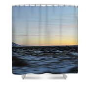 As Time Flies By Shower Curtain