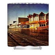 Asbury In The Morning Shower Curtain