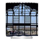 Asbury Park Shower Curtain by Lori Tambakis
