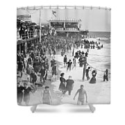 Asbury Park - New Jersey - 1908 Shower Curtain