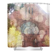 Ascending Angels Shower Curtain