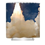 Ascending Atlantis Shower Curtain